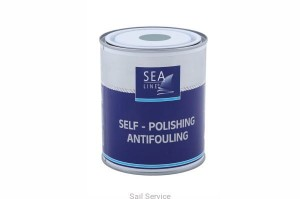 Farba antyporostowa Self-polishing antifuling 750 ml Sea Line czarna